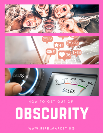 How To Get Out Of Obscurity COVER